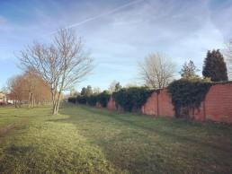 wandelpad langs de Westerbegraafplaats
