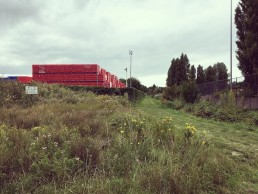Pad richting Leebeek